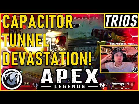 CAPACITOR TUNNEL DEVASTATION! VISS APEX LEGENDS SEASON 5