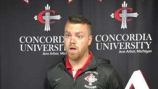 CUAA Men's Soccer - Head Coach Erik Schultz thumbnail