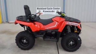 8. $8,499:  2017 Arctic Cat TRV 500 4X4 in  Red Overview and Review