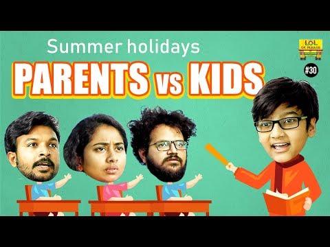 Summer Holidays - Parents vs Kids || Lol Ok Please - Epi #30