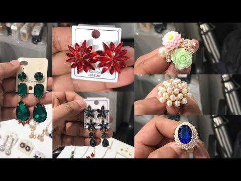JEWELLERY STARTING FROM ₹ 5/- (GLASS STONE NECKLACES, EARRINGS, FANCY RINGS, BRACELETS ) SADAR BAZAR