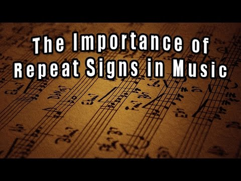 The Importance of Repeat Signs in Music