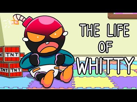 """""""The Life of Whitty"""" Friday Night Funkin' Song (Animated Music Video)"""