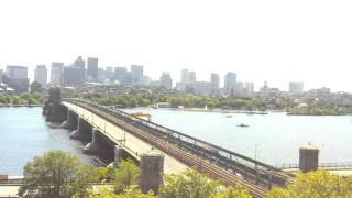 Daytime Time-Lapse Over Longfellow Bridge - Jun 25, 2014