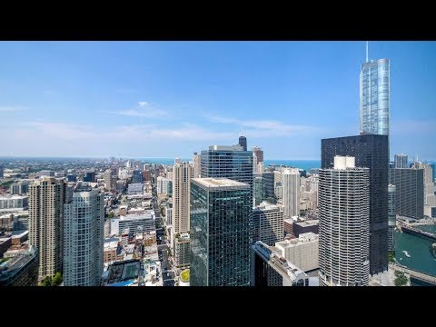 A 56th-floor -05 one-bedroom at the Loop's lavish OneEleven tower