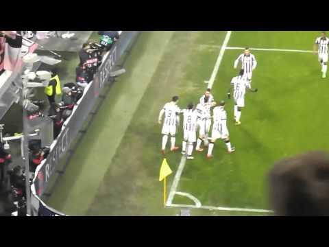 il gol di morata contro il borussia fa esplodere lo stadium