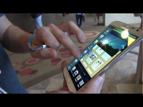 *Galaxy Note II* Pocket Test and Multitasking Overview (Big Android BBQ – 2012)