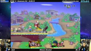 Mr. R vs Anti KTAR 8 – A fantastic match featuring a comeback, a fully-charged shield breaker, fancy strings, and more.