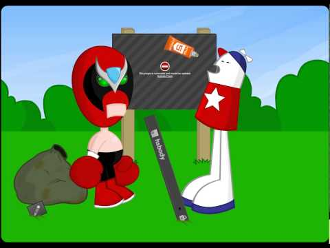 Homestar Runner comes back to find out Adobe Flash is dead
