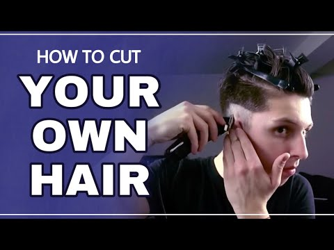 Self Haircut Tutorial & Styling - Skin Fade Pompadour 2016