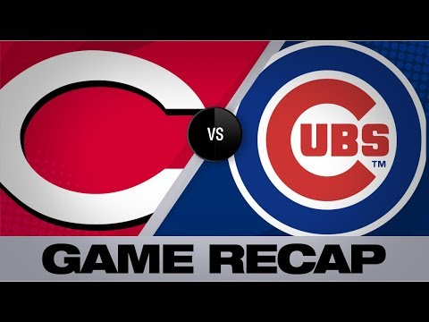 Video: Castillo's 10 K's lead Reds past Cubs, 6-3 | Reds-Cubs Game Highlights 7/15/19