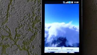 Flying through the Clouds lite YouTube video