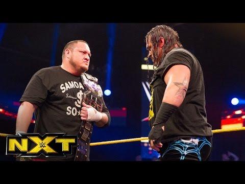 Rhyno confronts Samoa Joe: WWE NXT, July 13, 2016