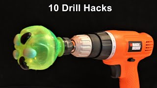 Video 10 Drill Machine Life Hacks you should know MP3, 3GP, MP4, WEBM, AVI, FLV November 2017