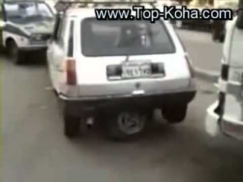 ecco come poter parcheggiare un automobile con la terza ruota!