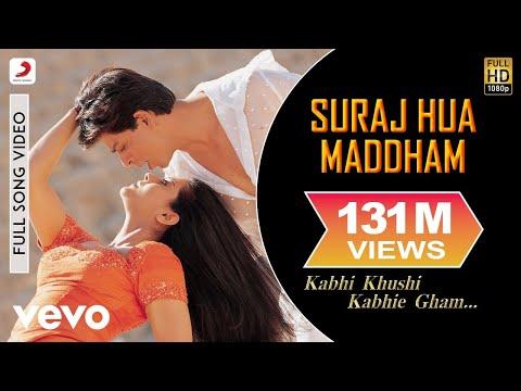 Download K3G - Suraj Hua Maddham Video | Shah Rukh Khan, Kajol