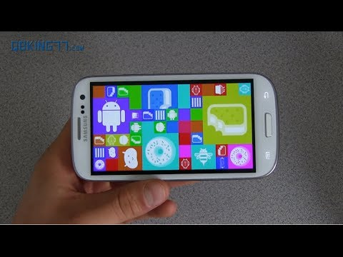 Android 4.4 KitKat on the Samsung Galaxy S3 (видео)