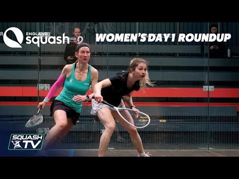 AJ Bell England Squash Super 8 - Day 1 Women's Roundup