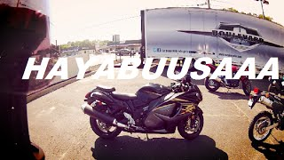 9. 2015 Suzuki Hayabusa Test Ride