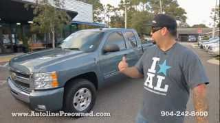 Autoline's 2011 Chevrolet Silverado 1500 LT Walk Around Review Test Drive