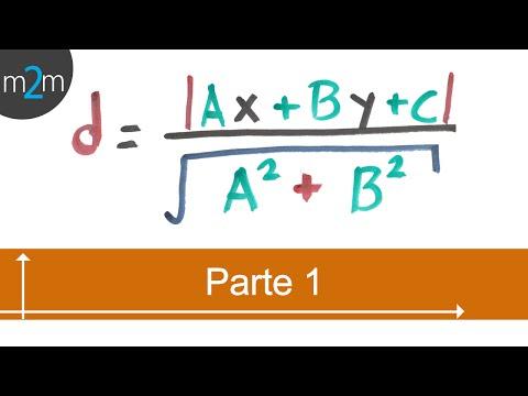 Abstand zwischen einem Punkt und einer Linie - analytische Geometrie (PART 1/2)