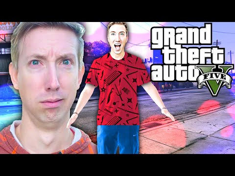 My Life is GTA 5 for 24 Hours - CWC & Spy Ninjas Playing Grand Theft Auto in Real Life vs Hackers