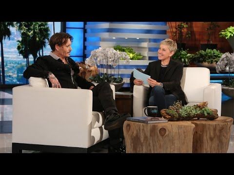 Video Ellen Puts Johnny Depp in the Hot Seat download in MP3, 3GP, MP4, WEBM, AVI, FLV January 2017