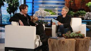 Video Ellen Puts Johnny Depp in the Hot Seat MP3, 3GP, MP4, WEBM, AVI, FLV September 2018