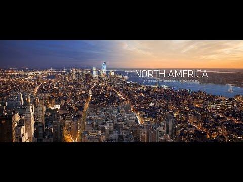 North America 4k | USA and Canada