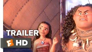 Moana Official Trailer 1 (2016) - Dwayne Johnson Movie