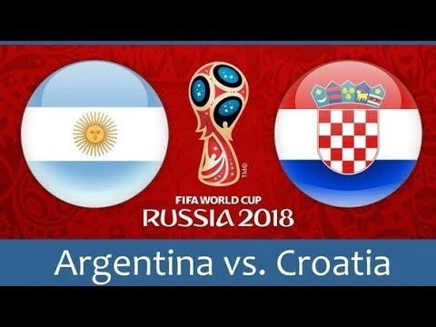 Argentina vs Croatia 0-3 - All Goals & Highlights - 21/06/2018 HD World Cup - From stands)