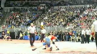 Watch: City, area wrestlers advance to finals