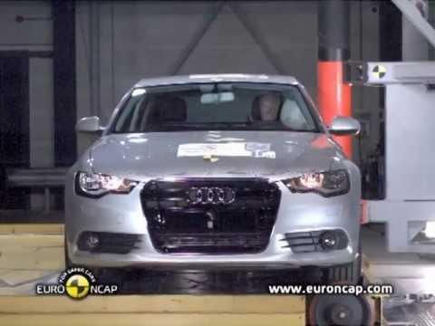 Audi A6 2012 Audi A6 CRASH TEST