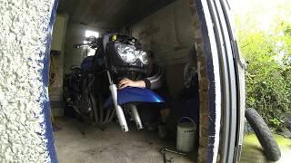 Suzuki gsx600f time lapse front forks