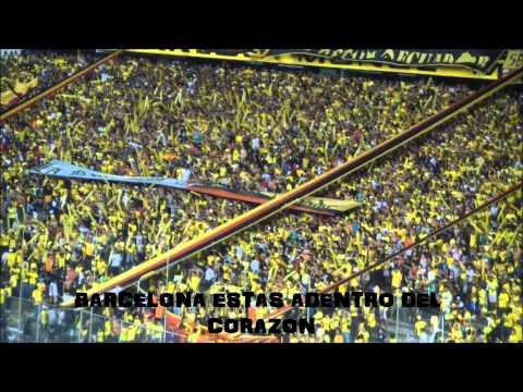 Sur oscura Este sentimiento! No lo cambiare jamas!! - Sur Oscura - Barcelona Sporting Club