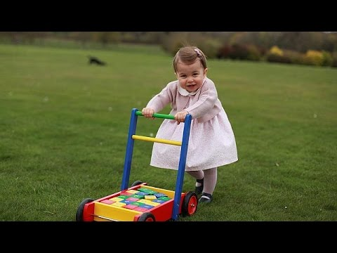 Princess Charlotte: Photos released to mark first birthday