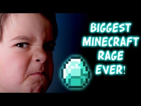 Minecraft : Xbox 360 - (P2) BIGGEST/FUNNIEST RAGE ON MINECRAFT EVER!! | Part 2