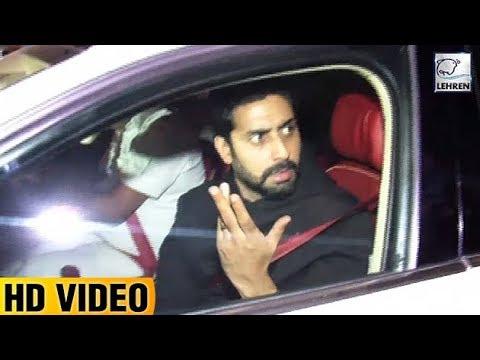Abhishek Bachchan Gets IRRITATED On Media | Karan