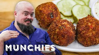 How To Make Boudin Balls with Isaac Toups by Munchies