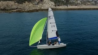 10. RS Venture Flying a Chute - California Inclusive Sailing