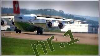 plane spotting bisenkonzept 10.09.2015 zurich airport nr.1 [aviation music video]