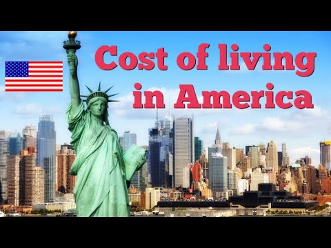 Cost Of Living in the United States of America
