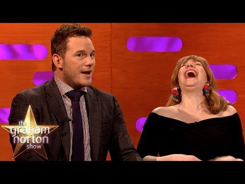 Chris Pratt Swam In Pee On The Jurassic Park Set | The Graham Norton Show