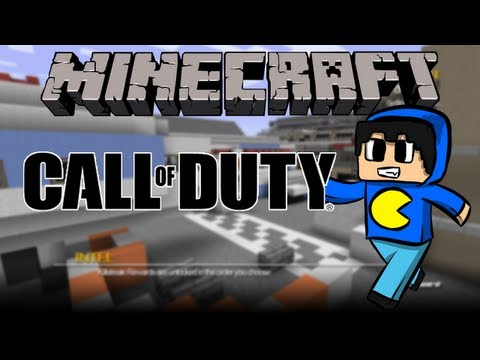 Call of Duty no Minecraft!
