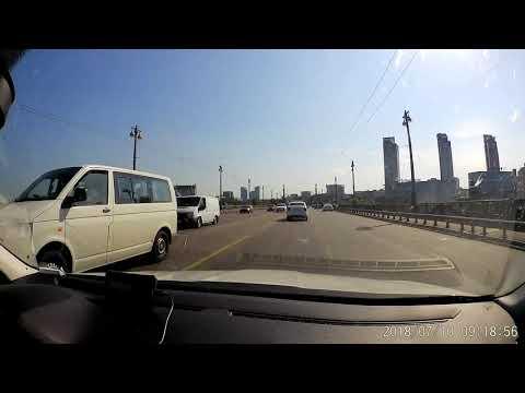 ДТП в Киеве на мосте Патона
