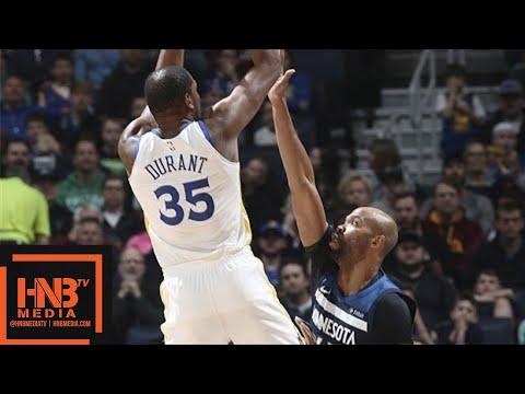 Golden State Warriors vs Minnesota Timberwolves Full Game Highlights / March 11 / 2017-18 NBA Season (видео)