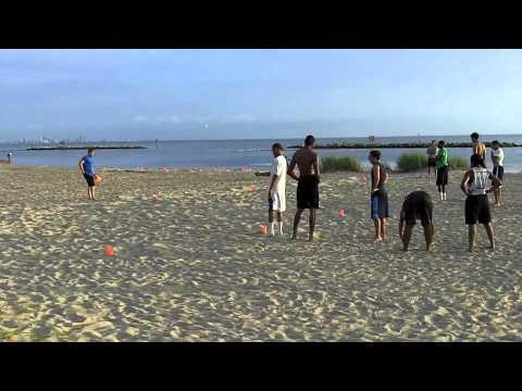 Beach Workouts 7-25-11
