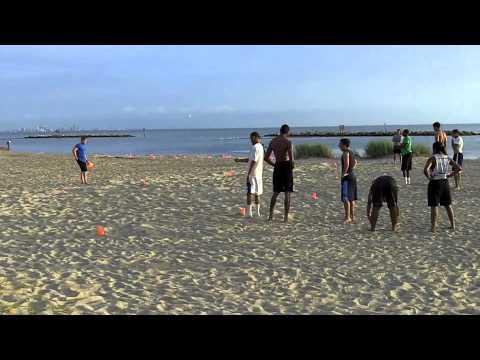 Beach Workouts 7-25-11