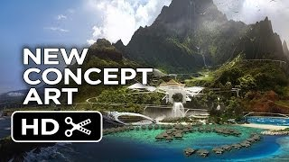 Jurassic World - New Island Concept Art (2015) - Jurassic Park Sequel Movie HD