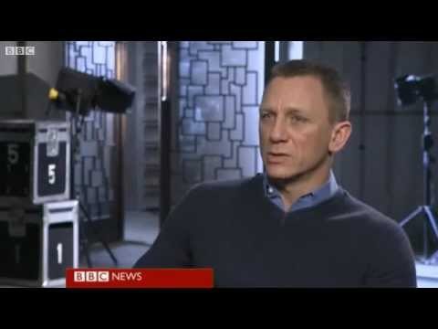 daniel craig - The BBC's Lizo Mzimba's interview with Daniel Craig on the set of the new James Bond film, Skyfall.